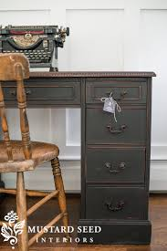 Chalk Paint Desk by The Difference Between Milk Paint And Chalk Paint My Miss Mustard