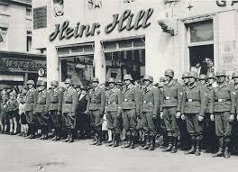 Rgt Bad Neustadt Mit Trommeln Und Trompeten Machte Die Wehrmacht 1939 Dorsten Zum