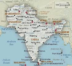 Monsoon Asia Map South Asia Political Map Thumbalize Me