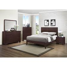 Luxury Pc Bedroom Sets Houston Faux Leather Upholstery Panel Bed - Bedroom sets houston