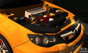 subaru custom cars subaru impreza wrx sti 2011 taxi for gta san andreas