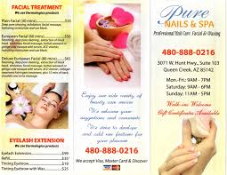 pure nails and spa