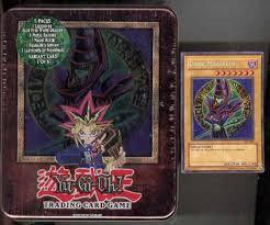 upper deck yu gi oh 2003 holiday dark magician tin da card world