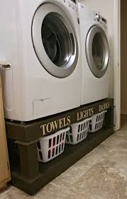 Lg Washer Pedestal White Washer Ana White Washer And Dryer Pedestal Diy Projects Pedestals