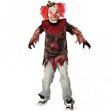 teen boy sideshow clown fancy dress costume halloween book week