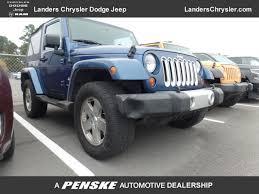 2009 jeep wrangler sport 2009 used jeep wrangler 4wd 2dr at landers chevrolet