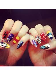 nail art designs the best celebrity nail art for all your