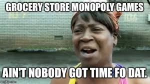 Grocery Meme - aint nobody got time for that meme imgflip