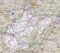 Map Of Nevada And Surrounding States West Virginia Road Map