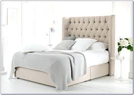 tufted sleigh bed king u2013 vansaro me