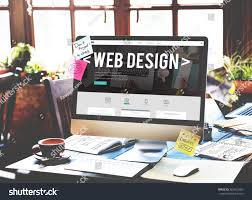 website homepage design web design website homepage ideas programming stock photo
