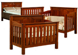 Oak Convertible Crib Cribs Three Stage Bed System