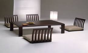 japanese style dining table home design