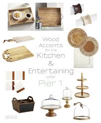 warm up home decor with beautiful rustic wood touches from pier 1
