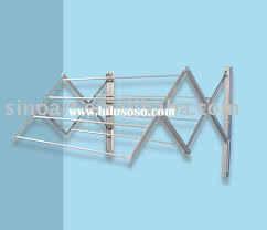 articles with retractable drying rack wall mounted tag laundry