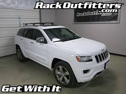 jeep grand platform jeep grand rhino rack rlcp27 vortex aero black roof rack