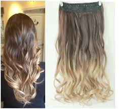 ombre hair extensions clip in new hot fashion clip in on ombre hair extensions synthetic curly