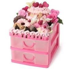 tissue box case strawberry party adorable fake dessert and food
