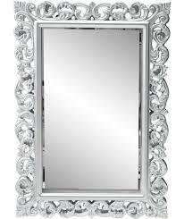 buy heart of house isabella high gloss wall mirror silver at