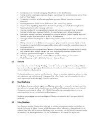 Risk Management Resumes Risk Management Policies U2013 Phi Mu Alpha Sinfonia