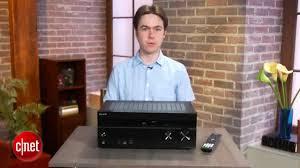 cnet home theater receiver sony str dn1040 av receiver review youtube