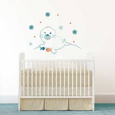 stickers pour chambre bebe sticker mural phoque motif bébé pour chambre bébé garçon