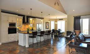 living room stunning kitchen and living room ideas with open