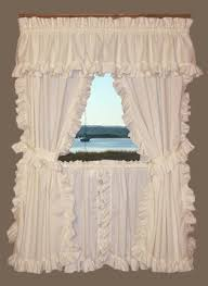 Ruffled Kitchen Curtains Bj S Country Charm Cape Cod Curtains Ruffled Cape Cod