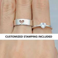 promise ring engagement ring and wedding ring set his and promise rings promise rings for couples promise
