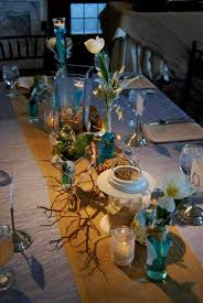 interior design cool beach themed wedding table decorations