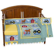 Tractor Crib Bedding Deere Tractor 4 Crib Bedding Set And Accessories Bed