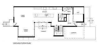 modern architecture floor plans minimalist zen like barn with external cladding in ottawa canada