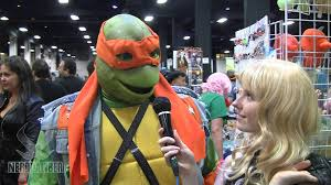 Michelangelo Ninja Turtle Halloween Costume Michelangelo Tmnt Cosplay Boston Comic 2013