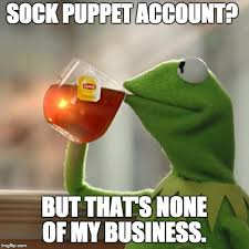 Sock Meme - but thats none of my business meme imgflip