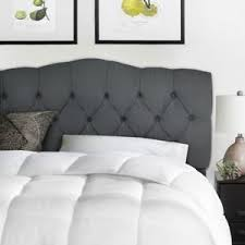 upholstered headboard bed ebay