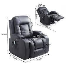canape massant electrique fauteuil de et relaxation électrique chauffant inclinable