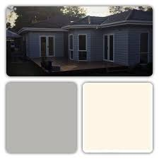 great paint colour idea for exterior painting of weatherboard
