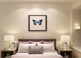 modèle de papier peint pour chambre à coucher non papier peint démontable moderne tissé pour la chambre à