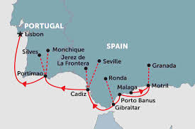 Map Of Spain And Morocco by Spain Tours Travel U0026 Trips Peregrine Adventures Us