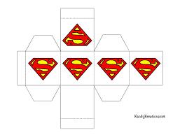 superhero favor box printables everyday parties