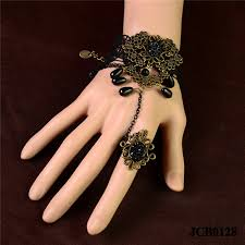 bridal bracelet with ring images Wholesale ring and bracelets attached online buy best ring and jpg