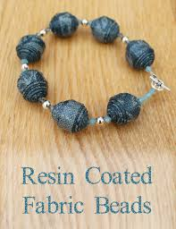 resin beaded necklace images Resin coated fabric beads craft me happy resin coated fabric beads jpg
