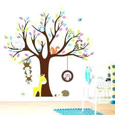 stickers arbre chambre bébé chambre enfant stickers interdit aux monstres stickers muraux