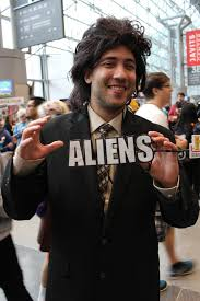 Meme Cosplay - giorgio a tsoukalos ancient aliens meme cosplayer day 3 flickr