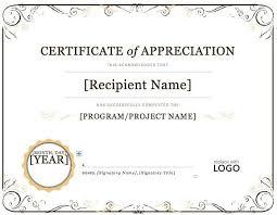 ms word certificate template certificates officecom certificates