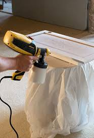 how to paint kitchen cabinets sprayer how to paint cabinets with a sprayer spray kitchen