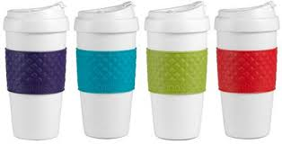 design plastic mug design for living plastic mug flip top lid set today only 15
