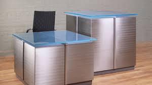 Reception Desk Glass Custom Reception Desk Citydeskstudio Voicesofimani