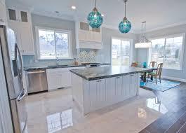coastal kitchen ideas interior white coastal kitchen design blue mosaic glass tile