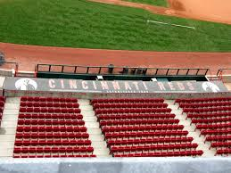cincinnati reds concrete roof colored concrete concrete decor